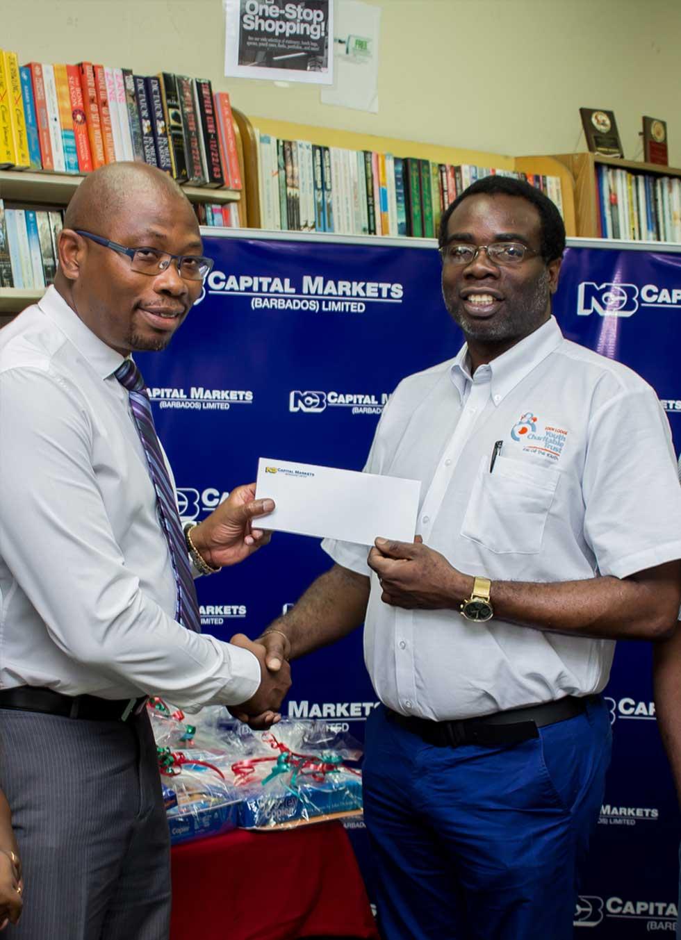 award from Charitable Trust